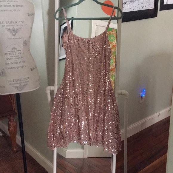 Calvin Klein Dresses & Skirts - Pink sequin Calvin Klein dress